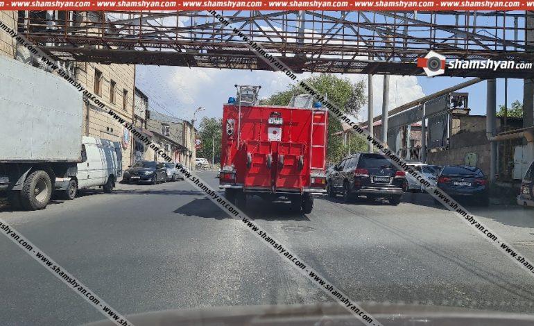 Խոշոր հրդեհ է տեղի ունեցել Երևանում