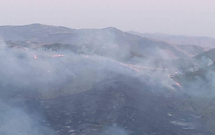 Ադրբեջանի լեռնային հատվածներում հրդեհներ են բռնկվել
