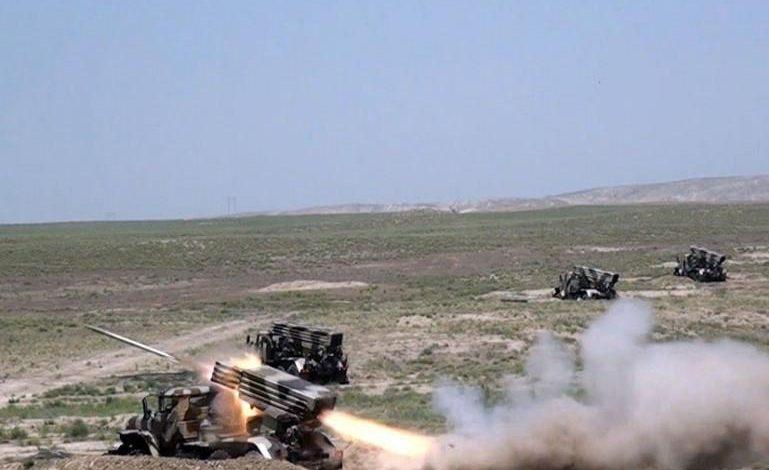 Զորավարժություններ ադրբեջանական բանակում