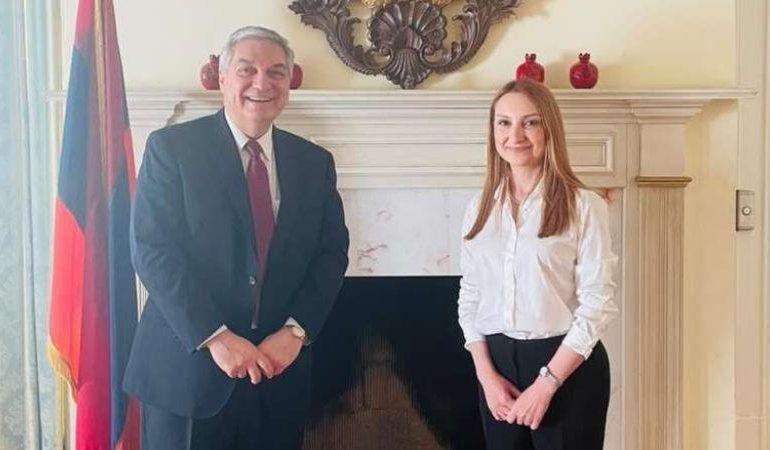 ՖՈՏՈ. ԱՄՆ-ում ՀՀ դեսպան Լիլիթ Մակունցը մասնակցել է Ջոն Ջ. Ալելոյի երդման արարողությանը