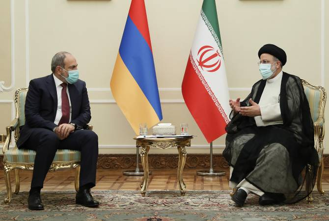 Փաշինյանը ու  Ռայիսին քննարկել են հայ-իրանական համագործակցությունը. Իրանի նախագահը կայցելի Հայաստան