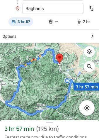 Ադրբեջանը պայմանավորվել է Գուգլի հետ․  Գուգլի սեփականատերերը  աղճատել են հայկական սահմանը