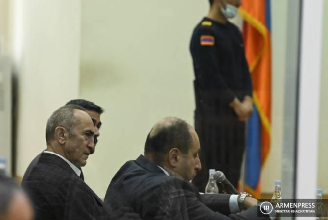 Ռոբերտ Քոչարյանի և Արմեն Գևորգյանի գործով դատական նիստը հետաձգվեց. Գևորգյանին բերման կենթարկեն դատարան