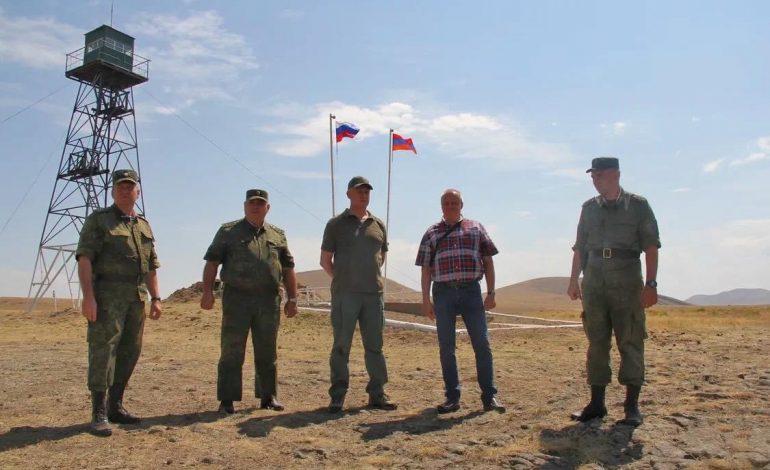 ՌԴ դեսպանն այցելել է Արմավիրի հատվածի հայ-թուրքական սահմանին գտնվող ուղեկալներ ու դիրքեր