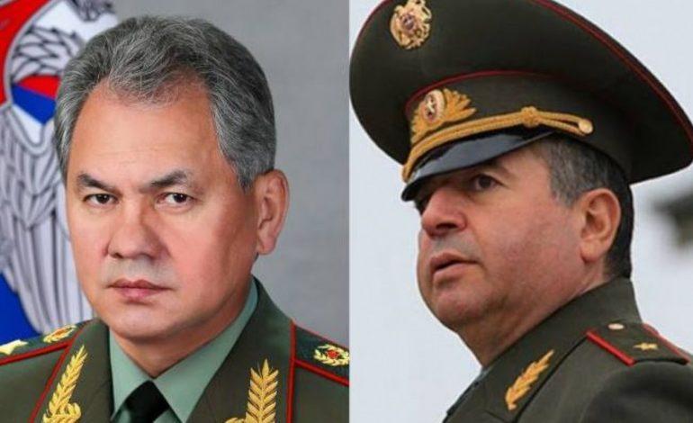 Шойгу заявил, что Россия готова помочь Армении модернизировать вооруженные силы республики