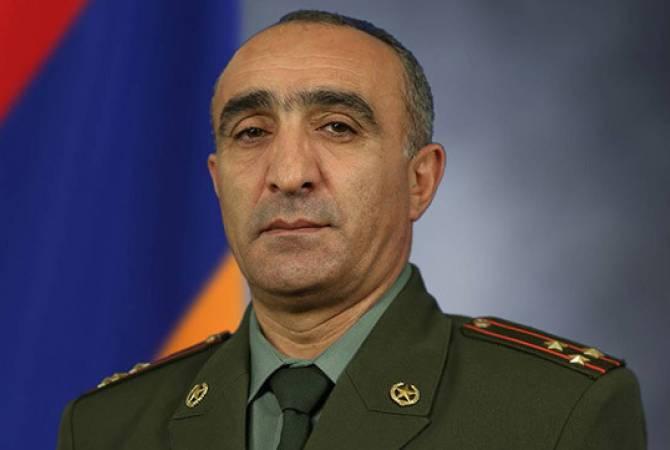 Степан Геворгян освобожден от должности первого замначальника оперативного управления Генштаба ВС РА