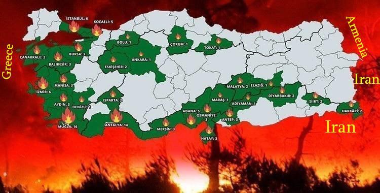 Թուրքիայի այրվող անտառները մեզնից հեռու են մոտ 1000կմ, հետևաբար դրանց բացասական հետևանքները առաջինը հենց մենք ենք զգալու