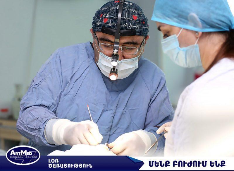 Քթի միջնապատի ծռվածությունը կարելի է վիրահատել մանուկ հասակից