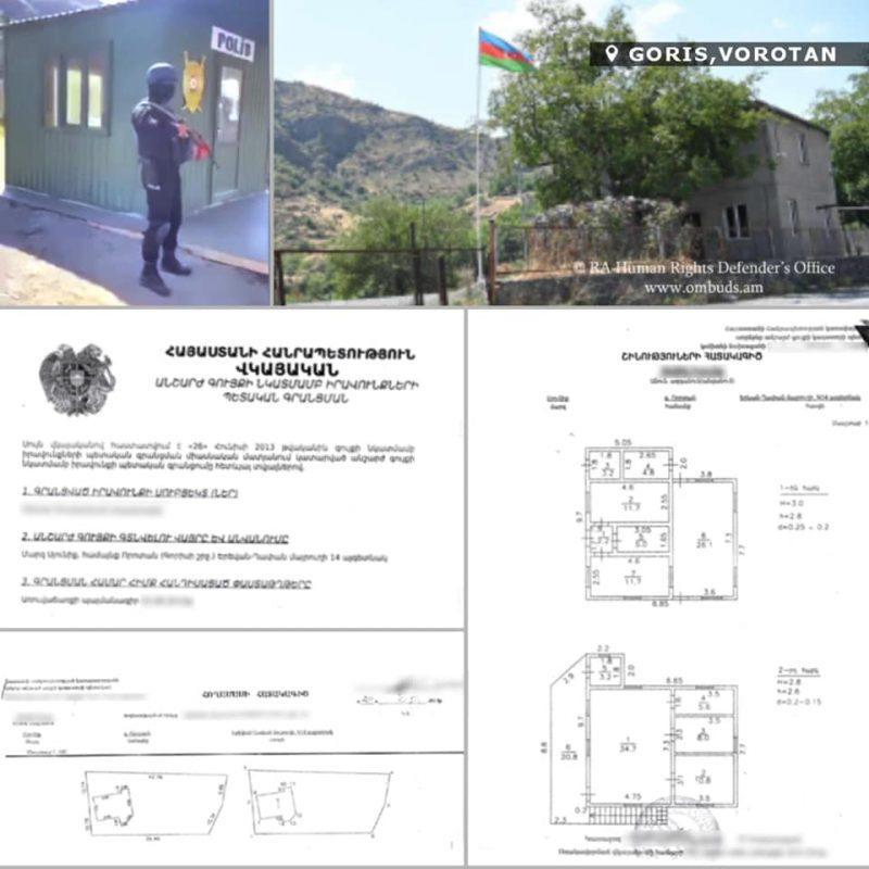 Որոտանի ճանապարհի ադրբեջանական ոստիկանական հենակետը, արգելապատնեշներն ու տեսախցիկները ենթակա են անհապաղ հեռացման. ՄԻՊ