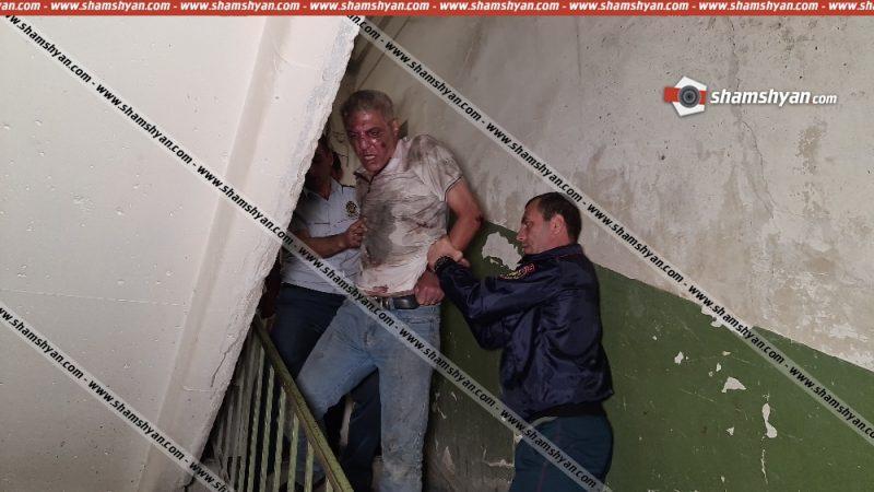 ՖՈՏՈ. Սպանություն Երեւանում. բնակարանում հայտնաբերվել է դանակի մի քանի հարված ստացած տղամարդու դի