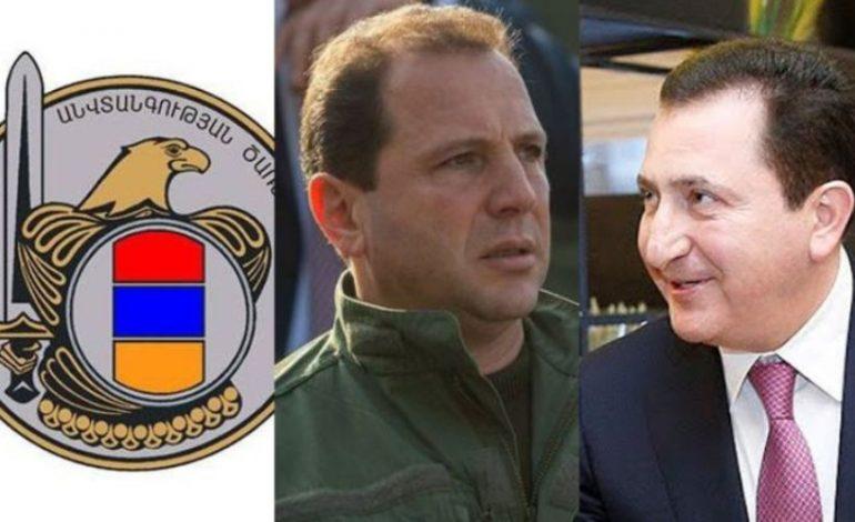 Ձերբակալվել են  Դավիթ Տոնոյանն ու  Դավիթ Գալստյանը․ԱԱԾ-ն հայտարարություն է տարածել