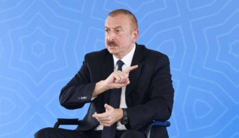 Ալիևը  «FRANCE 24» հեռուստաալիքի եթերից սպառնացել է Հայաստանին