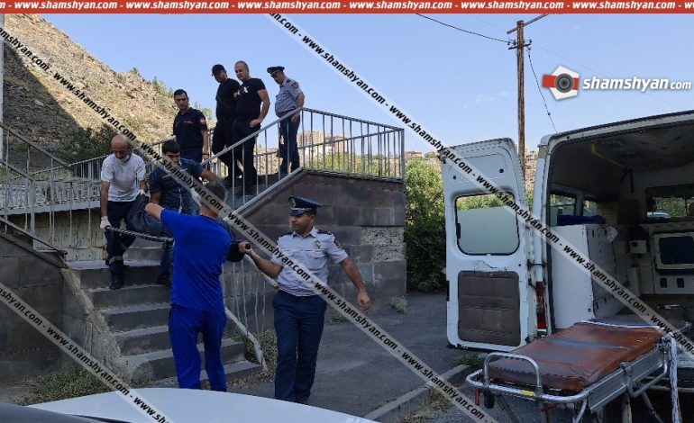 ՖՈՏՈ. Դավթաշենի կամրջի տակ հայտնաբերվել է երիտասարդ տղայի դի
