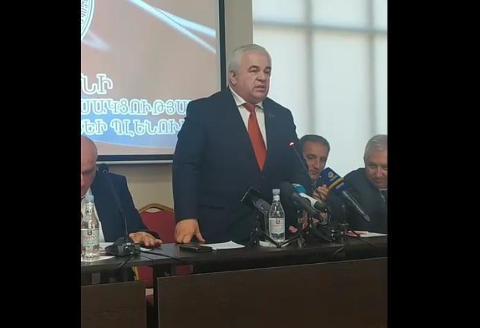 Հայաստանի կոմունիստական կուսակցության պլենար նիստում` ՌԴ կոմկուսի կենտրոնական կոմիտեի քարտուղար, ՌԴ պետդումայի պատգամավոր Կազբեկ Տայսաևի ելույթը