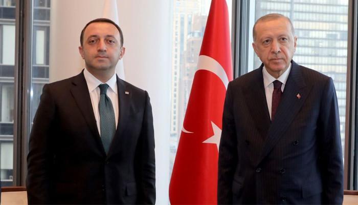 Гарибашвили и Эрдоган обсудили ситуацию в регионе — в частности, Армению и Азербайджан