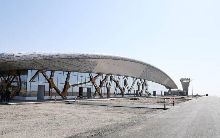 Վարանդայի (Ֆիզուլի) օդանավակայանում վայրէջք է կատարել առաջին ադրբեջանական օդանավը