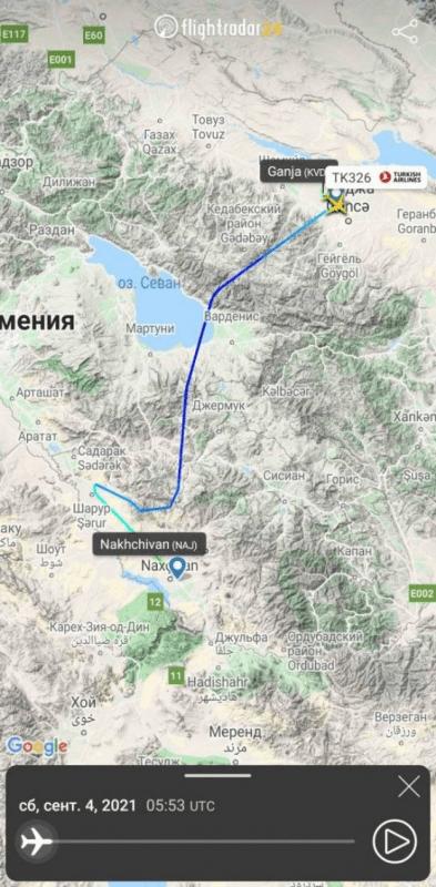 Հայաստանը բացել է իր երկինքը ադրբեջանական ավիացիայի համար. «Вестник Кавказа»