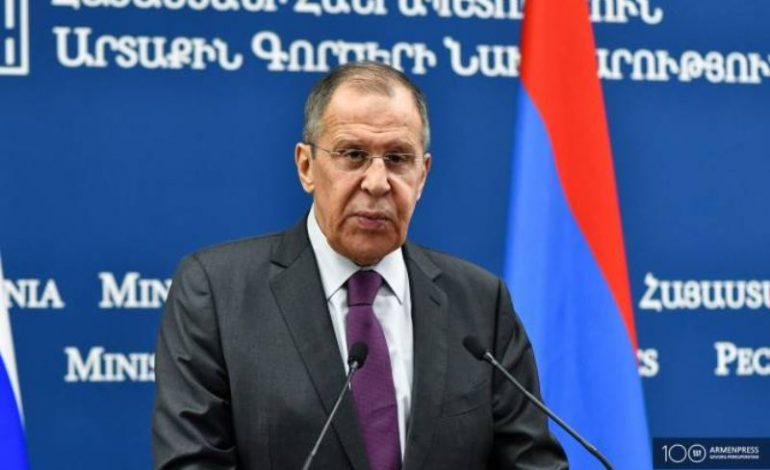 Договоренности по урегулированию карабахского вопроса успешно реализуются: Сергей Лавров