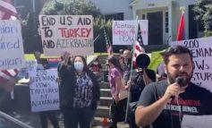 ՏԵՍԱՆՅՈՒԹ. Stop Aliyev… Հայ համայնքի բողոքի ակցիան Վաշինգտոնում Ադրբեջանի դեսպանության դիմաց