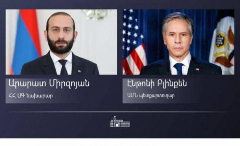 Вместе мы сможем продвигать наши общие интересы в вопросе суверенного и процветающего будущего Армении: госсекретарь США поздравил Арарата Мирзояна