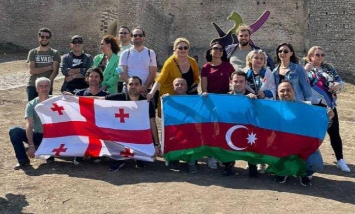 Ադրբեջանցիները մի խումբ վրացիների բերել են օկուպացված Շուշի