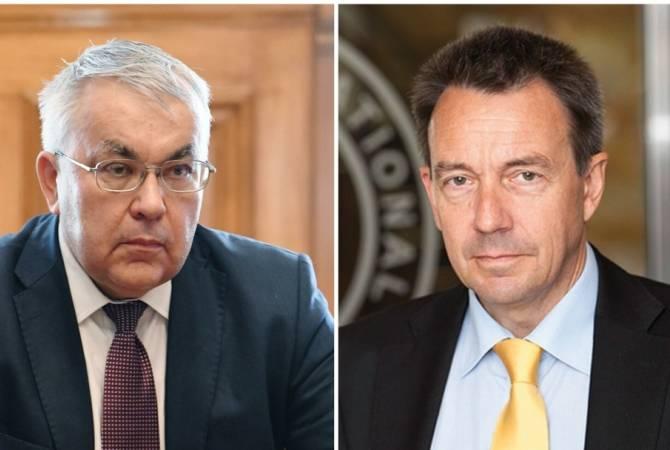 ՌԴ ԱԳ նախարարի տեղակալը և ԿԽՄԿ նախագահը քննարկել են ԼՂ-ի, այլ տարածաշրջանների հումանիտար խնդիրները
