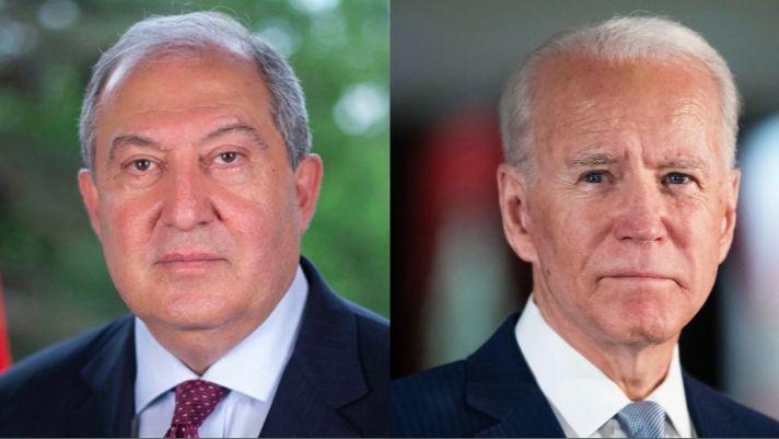 Արմեն Սարգսյանը ուղերձ է ԱՄՆ նախագահ Բայդենին