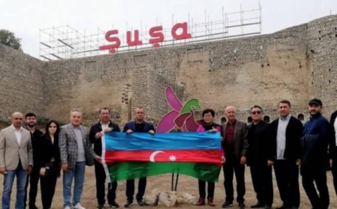 Ադրբեջանում գտնվող Ղազախստանի խորհրդարանի պատգամավորներն այցելել են Շուշի