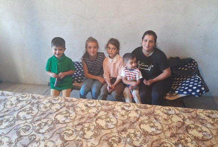 Արցախցի կինը 4 երեխաների հետ փորձել է վերադառնալ Շուշի