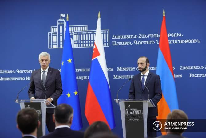 Հայ ռազմագերիների և Ադրբեջանում պահվող քաղաքացիական անձանց վերադարձը պետք է շարունակվի. Սլովակիայի ԱԳ նախարար