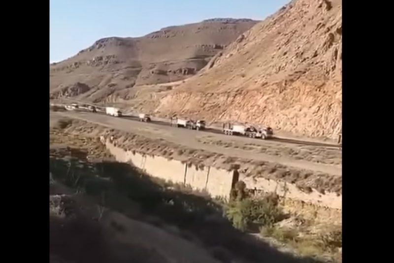 ՏԵՍԱՆՅՈՒԹ. Իրանը մեծաքանակ զինտեխնիկա է կուտակում Արաքս գետի մոտ` Ադրբեջանի սահմանին
