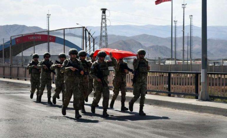 Թուրք զինծառայողները ժամանել են Ադրբեջան