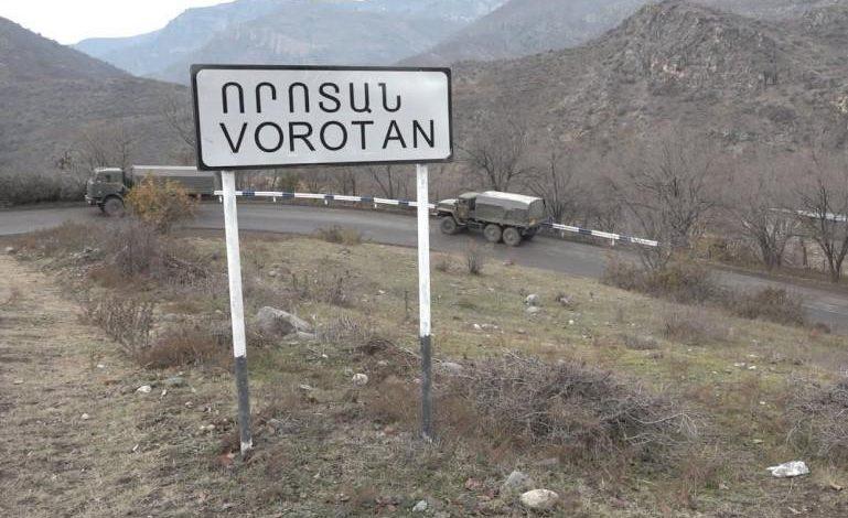 ՀՐԱՏԱՊ․ Քիչ առաջ Ադրբեջանը վերադարձրեց Գորիս-Որոտան ճանապարհի մայրուղուց շեղված ու Ադրբեջանի վերահսկողության տակ գտնվող տարածքում հայտնված քասախցիներին․ ԱԱԾ