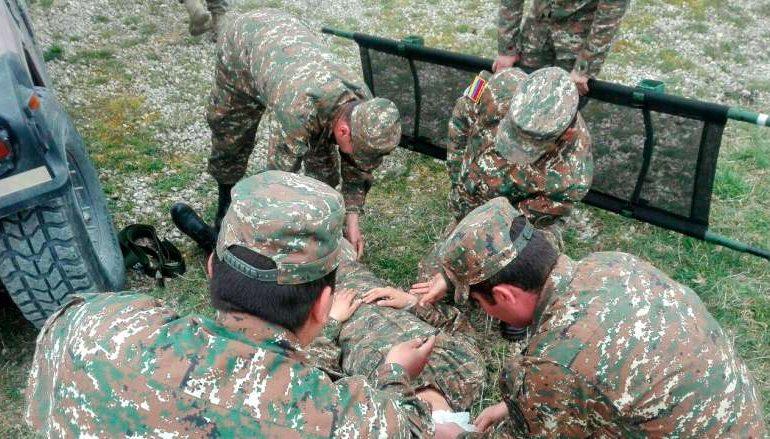 Վիրավորում ստացած զինվորը շատ արյուն էր կորցրել. տեղափոխել են Երևան. մանրամասներ