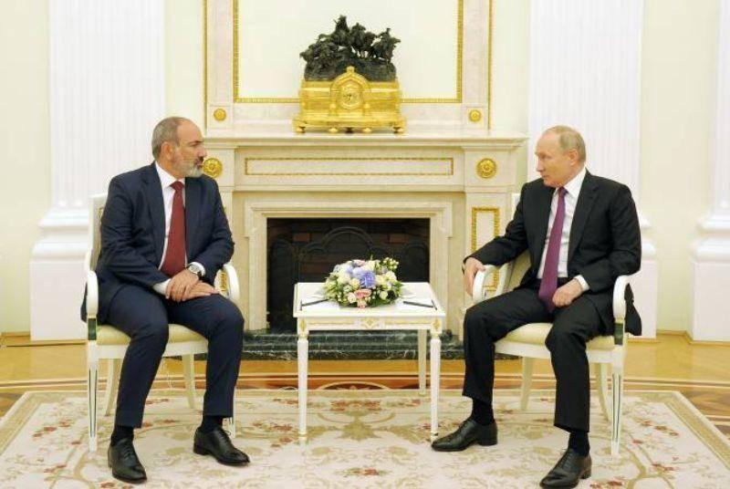 Нагорно-карабахский конфликт остаётся нерешённым: состоялась встреча Пашинян-Путин