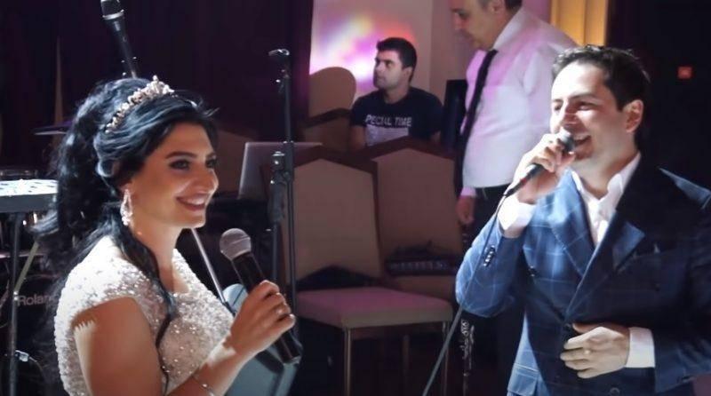 ԲԱՑԱՌԻԿ ՏԵՍԱՆՅՈՒԹ. ԱԺ պատգամավոր Թագուհի Թովմասյանն իր հարսանիքի ժամանակ երգել է Հայկոյի հետ