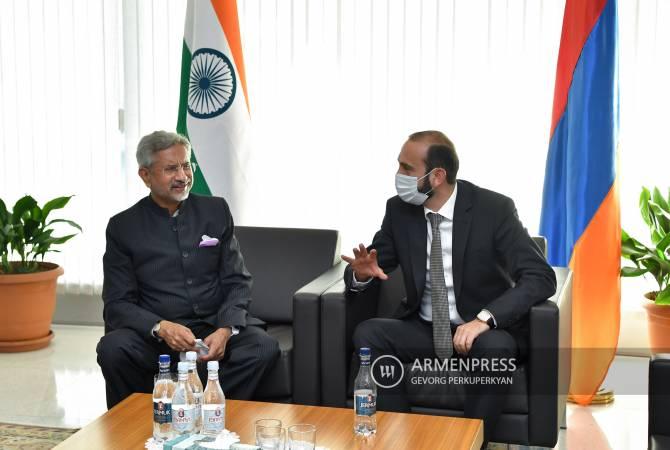 Глава МИД Индии Субраманьям Джайшанкар прибыл в Армению