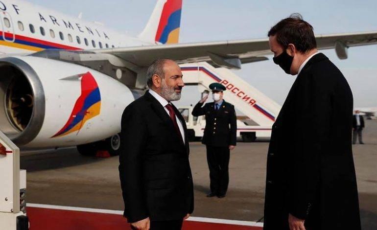 Никол Пашинян прибыл в Москву