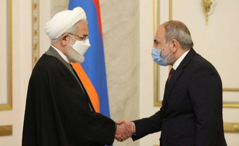 Премьер-министр Армении принял генерального прокурора Ирана Мохаммада Джафара Монтазери