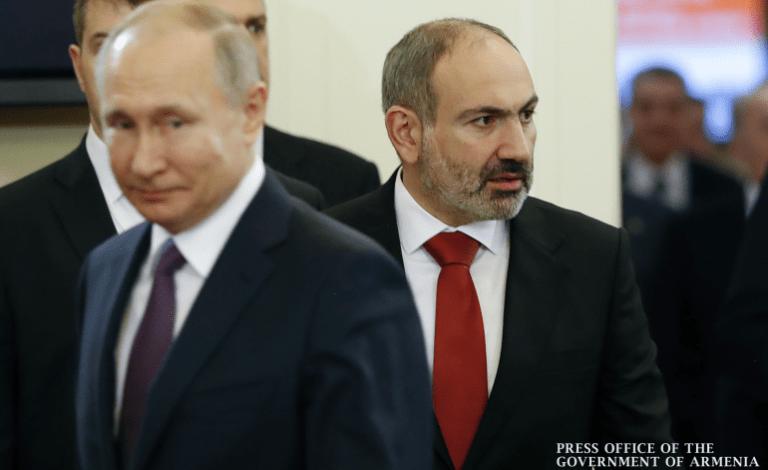 Путин и Пашинян 12 октября обсудят в Москве реализацию договоренностей по Карабаху