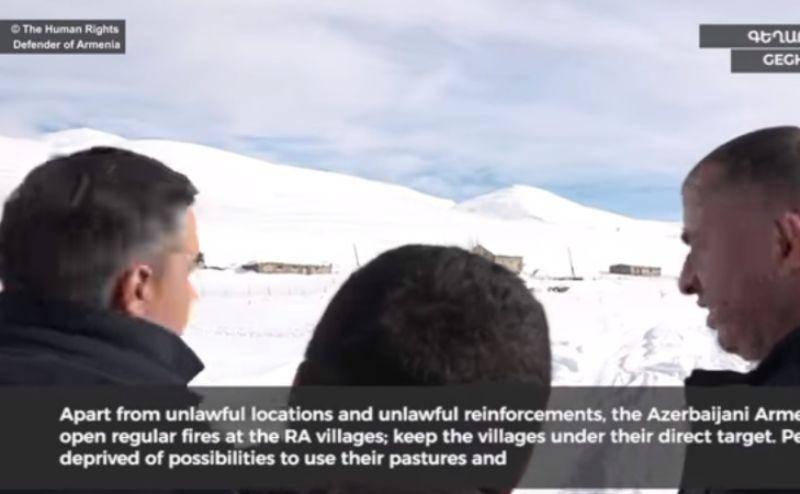 Թաթոյանը տեսանյութ է հրապարակել Գեղարքունիքում ադրբեջանական ԶՈՒ անօրինական տեղակայումների մասին