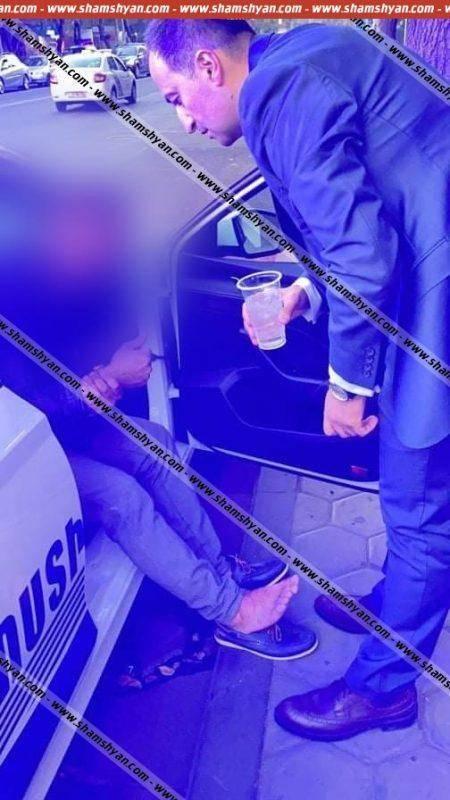 Վրաերթ Երևանում. վիրավորին առաջինը օգնության է հասել Առողջապահության նախկին նախարար Արսեն Թորոսյանը