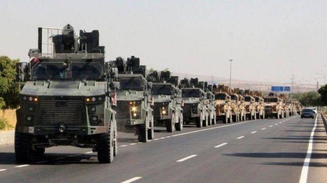 Թուրքիան սկսել է լուրջ ռազմական տեխնիկա մոտեցնել Իրանի սահմանին
